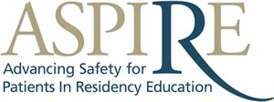 Advancing Safety for Patients in Residency Education (ASPIRE) logo