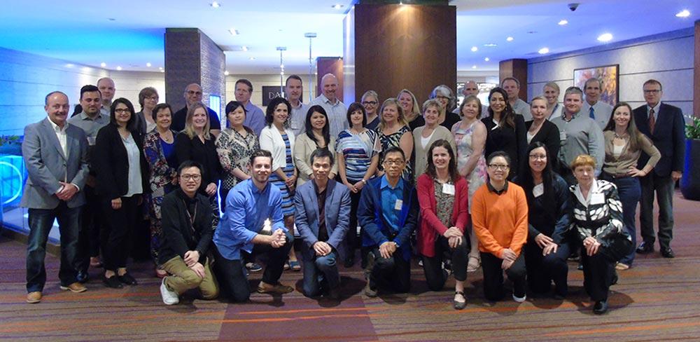 Participants au Cours canadien pour les coordonnateurs de la sécurité des patients (juin 2017)