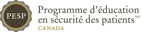 Programme d'éducation en sécurité des patients  ̶ Canada