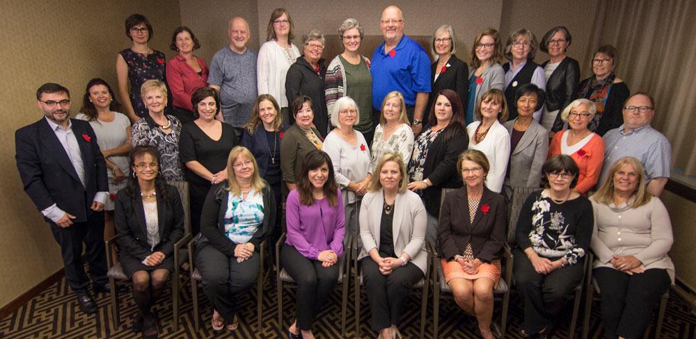 Volunteer members celebrating 10 years in their journey towards every patient safe